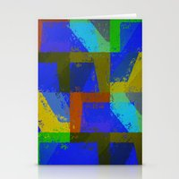 Colorful Truth. Blue. Stationery Cards