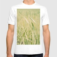 Grass Mens Fitted Tee White SMALL