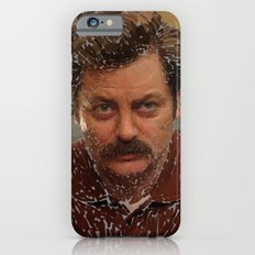 Ron Swanson, Nick Offerman, Parks and recreation Slim Case iPhone 6s