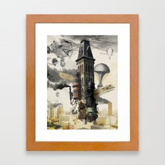 Lighter than MKE Framed Art Print