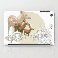 Deer, Creatures iPad Case
