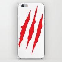 Claws iPhone & iPod Skin