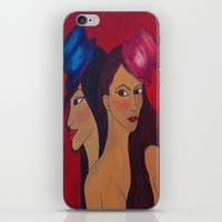 Show Girls iPhone & iPod Skin