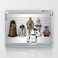 Star Wars Droid Lineup Laptop & iPad Skin