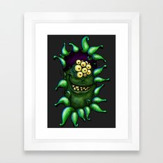 Pleased to see you ... Framed Art Print