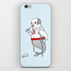 On the merman's propensity towards intemperance, pugnacity, and adultery iPhone & iPod Skin