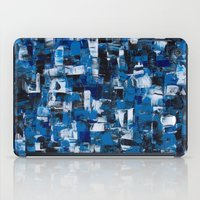 Blue Blade Painting iPad Case