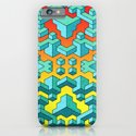 Miles and Miles of Squares iPhone & iPod Case