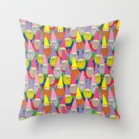 Mister Gnome Throw Pillow