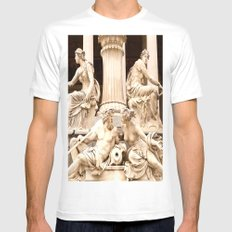 Beautiful Sculptures SMALL Mens Fitted Tee White