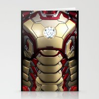 iron/man mark XLII restyled for samsung s4 Stationery Cards