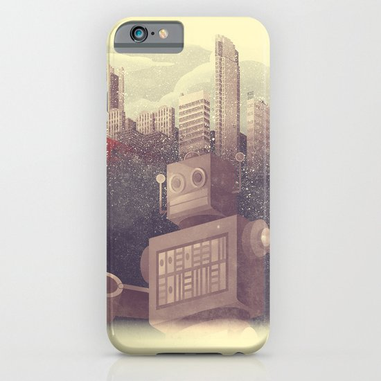 A City Snow-Bot iPhone & iPod Case