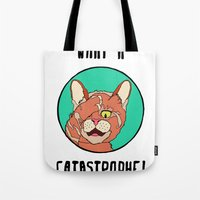 Catastrophe Cat Tote Bag