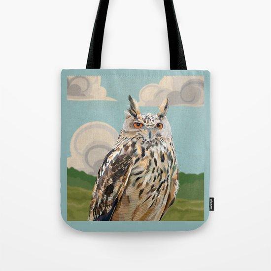 Eagle Owl 2 Tote Bag