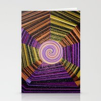 Celtic Spirals Stationery Cards
