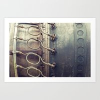 Jet Engine Art Print