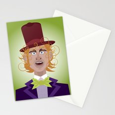 Willy Wonka from Charlie and the chocolate factory, played by the great Gene Wilder Stationery Cards