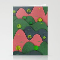Hills are alive Stationery Cards