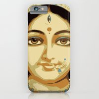 iPhone & iPod Case featuring Mataji by Tashi Delek