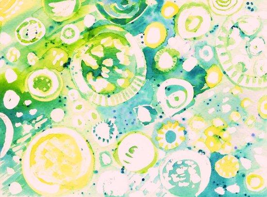 Circle Experiment Art Print