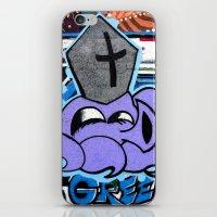 Squid Pope iPhone & iPod Skin