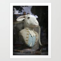 Monsieur Mouton Art Print