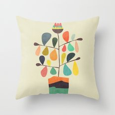 Potted Plant 4 Throw Pillow