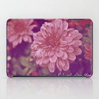 P.S. I Love You iPad Case