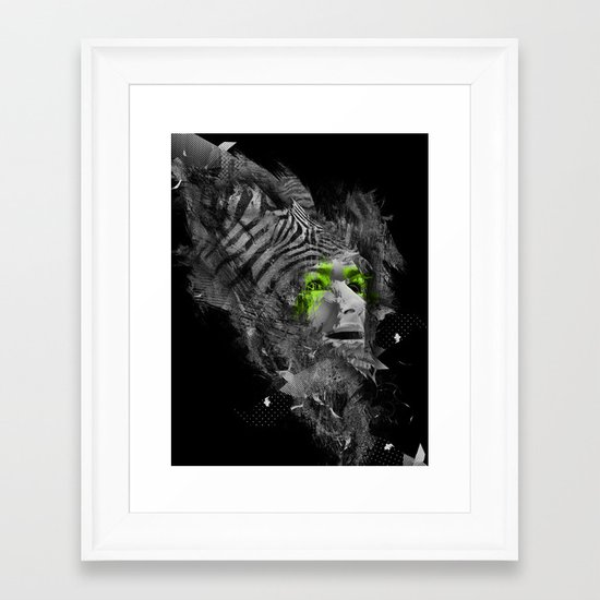 I'm Abstract Framed Art Print