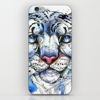 Icy Snow Leopard iPhone & iPod Skin