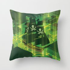 Search and Destroy Throw Pillow