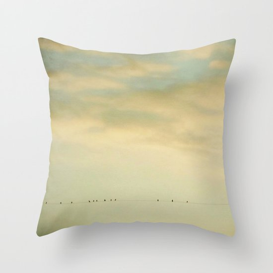 DREAM TOGETHER Throw Pillow
