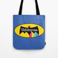 Batstagram Tote Bag
