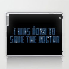 The Impossible Girl Laptop & iPad Skin