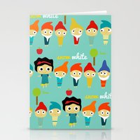 Snow White And The 7 Dwa… Stationery Cards