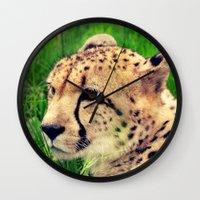 these beautiful eyes Wall Clock