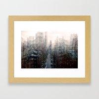 Lower East Side Framed Art Print