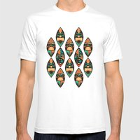 MCM Tiki Lounger Mens Fitted Tee White SMALL