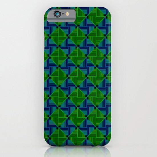Green Parquet iPhone & iPod Case