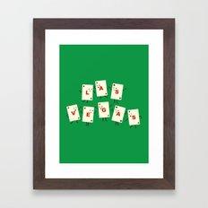 Viva Las Vegas! Framed Art Print