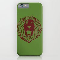 The Lion's Sin of Pride iPhone 6 Slim Case