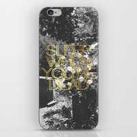Sleep When You're Dead iPhone & iPod Skin