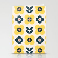 Vintage Geometric Flower… Stationery Cards