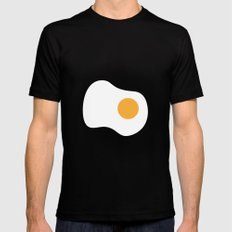 #2 Egg Mens Fitted Tee Black SMALL