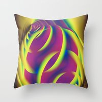 Entwined Feedback Throw Pillow