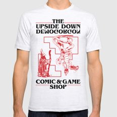 The Upside Down Demogorgon - Stranger Things Have Happened Mens Fitted Tee Ash Grey SMALL