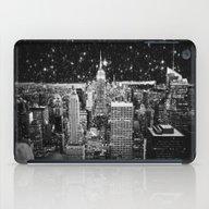 Starry Night In New York iPad Case