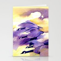 Canada Geese - Westering Home Stationery Cards