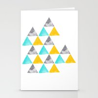the power of three Stationery Cards