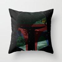 Star Explorer  Throw Pillow
